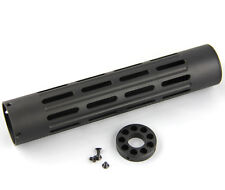 "10"" inch One Piece Free Float tube handguard w/ .75"" end cap (HG10RD)"