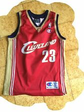 Maglia basket basketball cleveland james jersey shirt trikot vintage 7/8 years