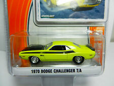 1:64 GreenLight *GL MUSCLE R12* Banana 1970 Dodge Challenger T/A  *NIP*