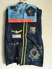 NWT CK Costumes Little Police Officer Kids Uniform Set Halloween Costume Age 3-8