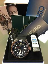 SEIKO SUN065 PROSPEX KINETIC GMT PADI DIVER'S MEN'S WATCH NEW WITH TAGS