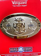 US NAVY - MASTER CHIEF PETTY OFFICER  (MCPO - 9) - NEW GOLD BELT BUCKLE