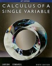 Calculus of a Single Variable, 9th Edition, Edwards, Bruce H., Larson, Ron, Good