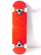 "Red Pro Complete 8.0"" Skateboard  Deck +  5.0 Trucks + 52mm Wheels"