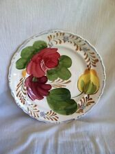 Belle Fiore Chanticleer Simpsons Potters England Butter Pat Jam Plate Dish RARE