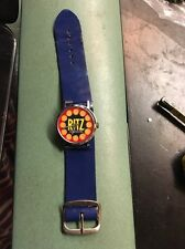 Vintage Ritz Cracker Wind Up Watch in working condition advertising