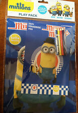 BNIP New Despicable Me Minions Mania Play Pack -Colouring Pad Mini Pad 4 Pencils