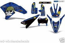 Yamaha Graphic Kit WR 250x WR250 X/R Dirt Bike Decal w/ Backgrounds 2007-2016 MM