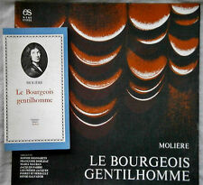 MOLIERE - LE BOURGEOIS GENTILHOMME - ENCYCLOPEDIE SONORE -  FRENCH BOX SET 3 LP