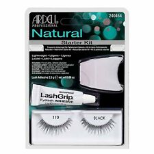 Ardell Natural Eyelash Adhesive Applicator False Lashes 110 Starter Kit Black