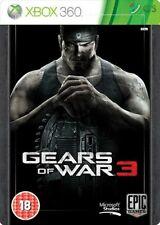 Gears Of War 3 Steelbook Edition Xbox 360 * NEW SEALED PAL *
