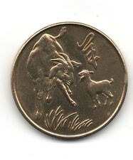 Singapore 1991 Year of Goat large medallion