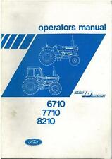 FORD TRACTOR 6710 7710 8210 OPERATORS MANUAL