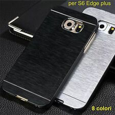 cover custodia Bumper slim alluminio luxury Case per samsung galaxy S6 edge plus