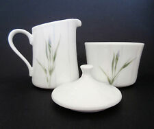 "Corelle- ""Shadow Iris"" Cream Pitcher and Lidded Sugar Bowl Set"