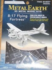 B-17 Flying Fortress Metal Earth 3D Laser Cut Metal Model Kit Fascinations