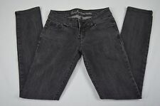 Guess Jeans Womens Sarah Skinny Black Denim Jeans size 26 X 31.5