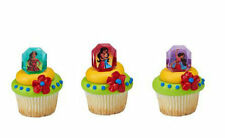 12 Elena Of Avalor Movie Cupcake Cake Rings Birthday Party Favors Cake Toppers