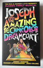 JOSEPH AND THE AMAZING TECHNICOLOR DREAMCOAT VIDEO VHS DONNY OSMOND