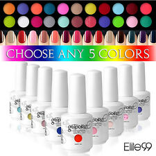 PICK ANY 5 COLOURS Elite99 Soak Off Gel Nail Polish UV LED Manicure Deco 15ML