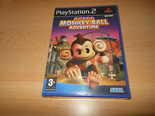 Super Monkey Ball Adventure (Monkeyball) - PlayStation 2 PS2-Nuevo Sellado