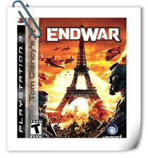 PS3 Tom Clancy's EndWar SONY PlayStation Action Games Ubisoft