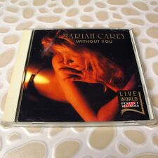 Mariah Carey - Without You JAPAN import CD Live World Perfect Recorded #115-1