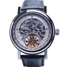 SS Skeleton 1-Min.Real Flying Tourbillon watch