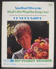 "LESLEY GORE Hip-Pocket Records ""You Don't Own Me"" MINT Sealed in Envelope"