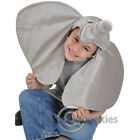 Elephant Hat Big Ears Grey Child Small Party Holloween Costume Cap Accessory