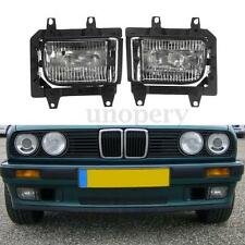 Front Bumper Clear Crystal Fog Light Cover For BMW E30 318i 318is 325i 1985-1993