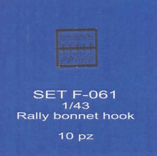 ABC ACCESSORI-SPARE PARTS SETF061 CHIUDICOFANO RALLY/ RALLY BONNET HOOK (10 SET)