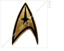 """Star Trek embroidery patch Size: 3.25"""" tall/ 8.3 cm ( 1 patch) Iron On"""