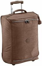 Kipling Cabin Sized 2 Wheeled Trolley Suitcase, 50 cm, Monkey Brown