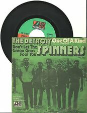 "The Detroit Spinners, One of a kind, G/VG, 7"" Single, 1414"