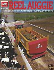 Farm Equipment Brochure - Knight - 2000 Reel Auggie Mixer Feeder Cattle (F3866)