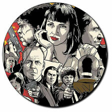 Parche imprimido, Iron on patch /Textil Sticker/ - Pulp Fiction, Tarantino