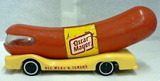 OLD VINTAGE OSCAR MAYER WIENER MOBILE PLASTIC COIN  BANK