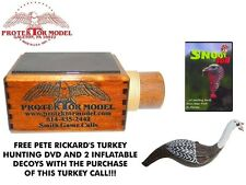 PROTEKTOR MODEL - NEW HANDMADE T-12 CERAMIC TURKEY CALL W/ FREE DVD - #1015A
