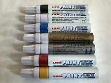 Uni Oil Based Permanent Paint Marker PX-30 Broad  ASSORTED color x 7 pcs