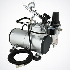 High Quality Air Compressor System Airbrush Kit 0.3mm Nozzle Dual-Action Gun Set