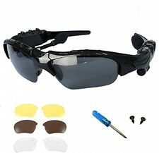 Oldshark Wireless Music Sunglasses With Stereo Handsfree Bluetooth 4.1 Headset