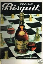 Publicité advertising 1978 Le Cognac Bisquit