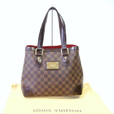 Authentic LOUIS VUITTON Damier Ebene Hampstead PM Tote Hand Bag Purse 746 +
