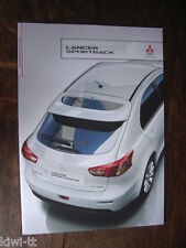 Mitsubishi Lancer Sportback Prospekt / Brochure / Depliant, D, 10.2010