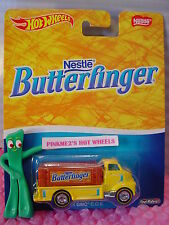 2016 Hot Wheels Nestle Butterfinger '51 GMC COE☆Yellow☆Pop Culture☆Real Riders