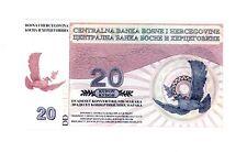 Bosnia Herzegovina … P-N.L./(B223a) … 20 Maraka … 1997 … *Unc* … Color Trial