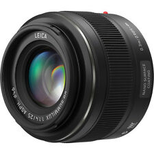 New Panasonic Leica DG Summilux 25mm f/1.4 ASPH. Lens (H-X025)