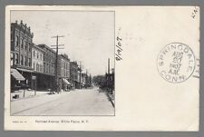 [53894] 1907 POSTCARD RAILROAD AVENUE IN WHITE PLAINS, NEW YORK (UNDIVIDED BACK)