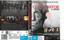 The Conspirator-2010-James McAvoy-2 Disc-Movie-DVD